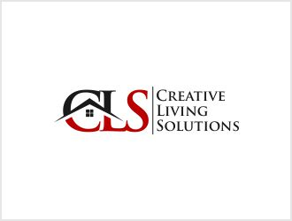 Creative Living Solutions logo design