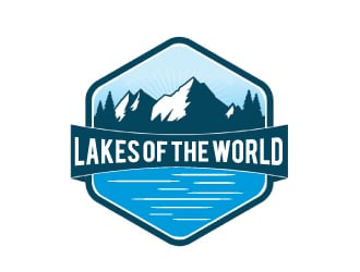 Lakes Of The World logo design