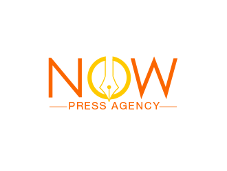 NOW Press Agency logo design