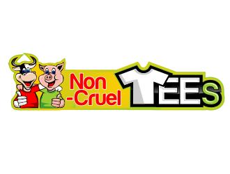 Non-CruelTEES logo design