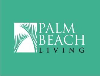 Palm Beach Living logo design
