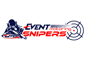 Event Motoring Snipers logo design