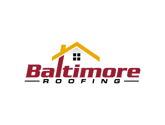 Baltimore Roofing logo design