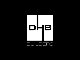 DHB Builders logo design
