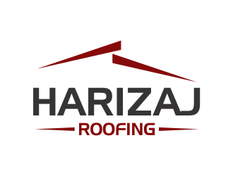 Harizaj roofing logo design