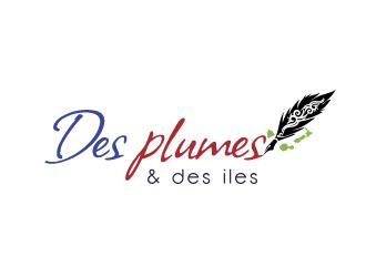 Des plumes et des îles logo design