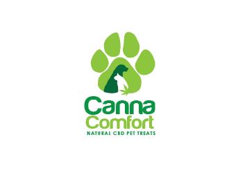 Canna Comfort logo design