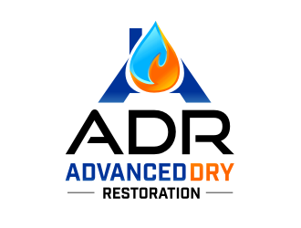 Advanced Dry Restoration logo design