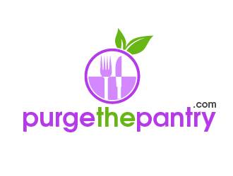 Purge The Pantry logo design
