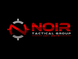 Noir Tactical Group logo design