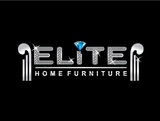 Elite Home Furniture logo design