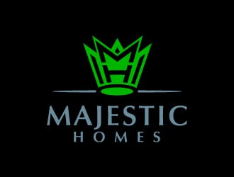 Majestic Homes logo design