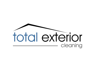 Total Exterior Cleaning logo design