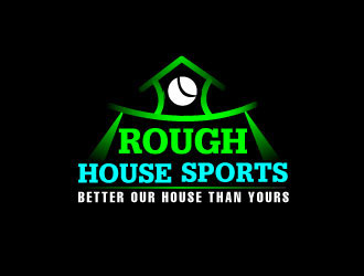 Rough House Sports logo design