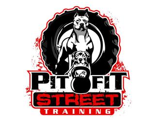 PitFit Street Training logo design