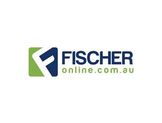 FISCHER online.com.au logo design