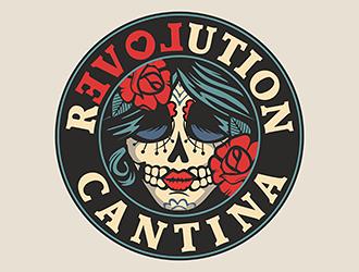 Revolution Cantina logo design