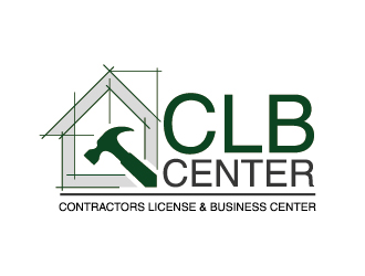 CLBcenter---Contractors License & Business Center logo design