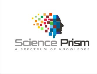 Science Prism logo design