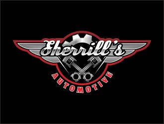 SHERRILL'S AUTOMOTIVE logo design