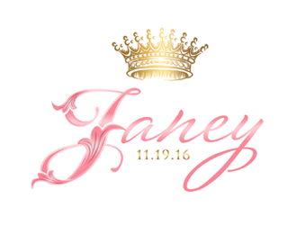 Janey's Bat Mitzvah Logo logo design