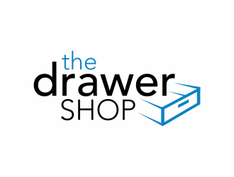 the drawer shop logo design