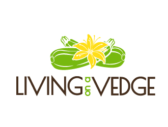 Living on a Vedge logo design