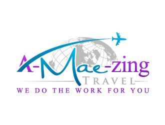 A-Mae-Zing Travel logo design