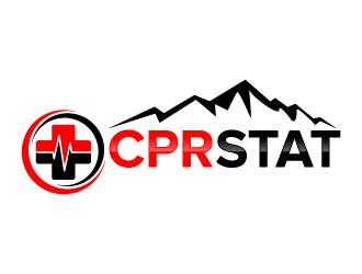 CPR STAT logo design