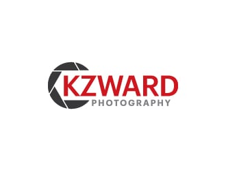 KZWARD Photography logo design