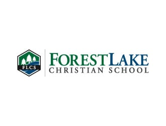 Forest Lake Christian School logo design