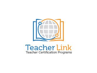Teacher Link logo design