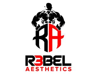 R3BEL AESTHETICS logo design
