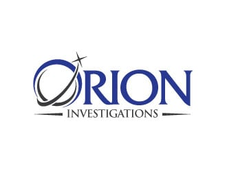 Orion Investigations logo design
