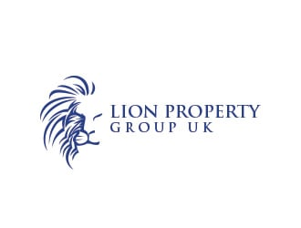 Lion Property Group UK logo design