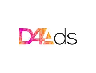 D4 Ads logo design