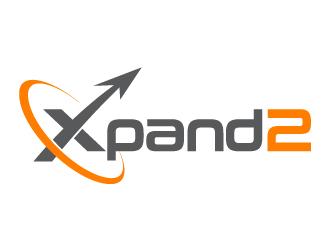 Xpand2 logo design