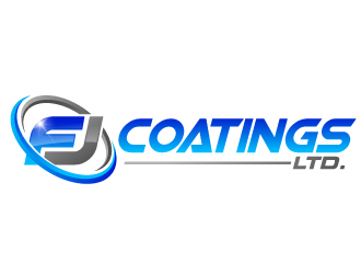 FJ Coatings Ltd. logo design