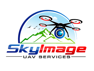 SkyImage logo design
