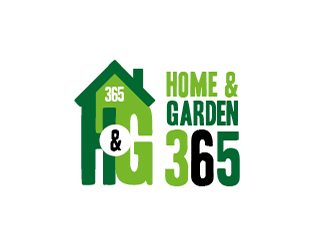 Home & Garden 365 logo design