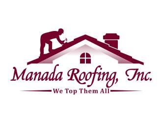 Manada Roofing, Inc. logo design