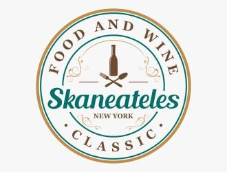 Skaneateles Food and Wine Classic logo design