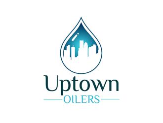 Uptown Oilers logo design