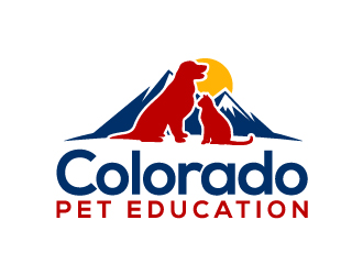 Colorado Pet Education logo design