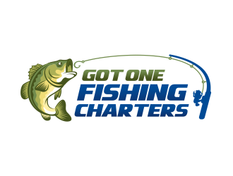 Got One Fishing Charters logo design