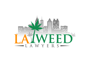 LA WEED LAWYERS logo design