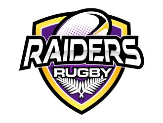 Raiders Rugby logo design