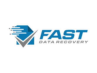 Fast Data Recovery logo design