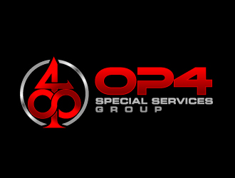 OP4 Special Services Group logo design