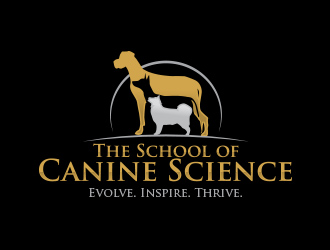 The School of Canine Science logo design